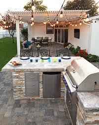 outdoor küche die beste möglichkeit zum kochen grillen