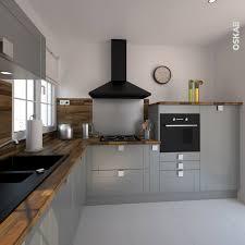 couleurs de cuisine avec des armoires en chêne meilleur de cuisine