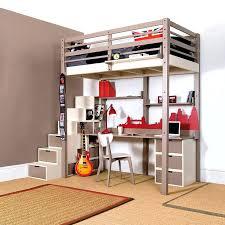 lit mezzanine avec bureau et rangement lit superpose pour ado bureau ado avec rangement lit mezzanine
