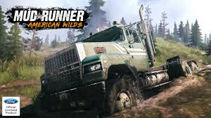 100 Ford Truck Games MudRunner Vehicle Presentation Introducing The LTL9000