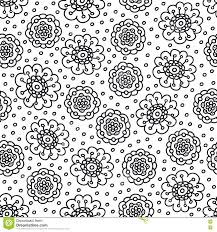 Royalty Free Vector Download Coloring Page Flower