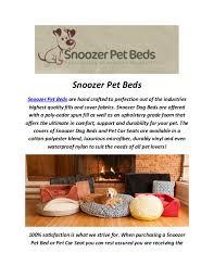 snoozer pet beds luxury dog sofa