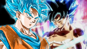 Is Dragon Ball Super About To Pair Gokus Ultra Instinct With Saiyan Blue
