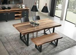 esszimmer stühle wandspiegel sideboard sitzbank