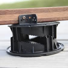 plot reglable pour terrasse bois poser une terrasse en bois sur plots réglables terrasse bois