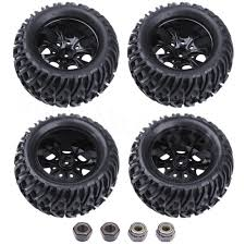 4pcs RC Truck Tires & Wheels Hex:12mm For 1/10 HSP Monster ... Redcat Racing Volcano Epx Volcanoep94111rb24 Rc Car Truck Pro 110 Scale Brushless Electric With 24ghz Portfolio Theory11 Rtr 4wd Monster Rd Truggy Big Size 112 Off Road Products Volcano Scale Electric Monster Truck Race Silver The Sealed Bearing Kit Redcat Lego City Explorers Exploration 60121 1500