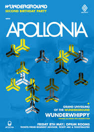 100 Wunderground Dublin RA Abstract Presents Apollonia At IRO At