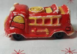 100 Antique Toy Fire Trucks Wallace Berrie 1976 Mini Truck Vintage Etsy