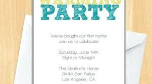 Housewarming Invitation Ideas Party Invites Goodbye