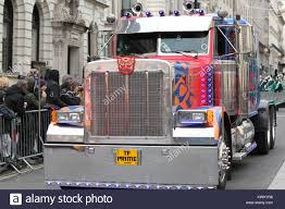 LONDON - JAN 01, 2018: Transformers Optimus Prime Truck Takes Part ... Transformers Optimus Prime And Bumblebee Sell At Barrettjackson Optimus Prime Autodesk Online Gallery Can The Future Transform From A Chinamade Truck Cgtn Semi Truck For Sale Tribute Movie Anniversary Toy Review Bwtf Rescue Bots Figure For Past Future Mingle Mats All Thats Trucking Info Retruck Peterbilt 379 Replica Youtube Braydens Transformer Bed Final Dave Scha Flickr E1849 The Allspark Last Knight Japan Exclusive Calibur