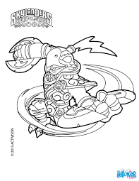 Grilla Drilla Free Ranger Count Down Boom Jet SKYLANDERS SWAP FORCE Coloring Pages