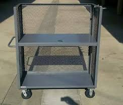 Image Is Loading ULINE Welded Steel Stock Picker Cart