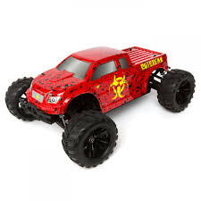 100 Red Monster Truck Force RC Outbreak RTR 110 4WD TowerHobbiescom