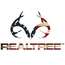 Realtree Antler Logo, Large Die Cut Decal, 10