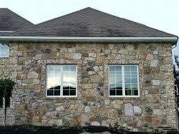 Exterior Wall Stone On Homes Cladding Texture