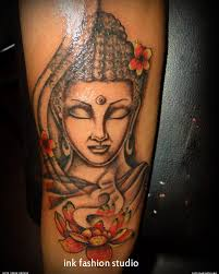Asian Buddha Tattoos On