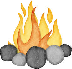 Camp Fire Clipart Rv Camping 4