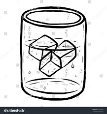 Glass Ice Water Clipart
