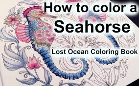 Adult Coloring Book Lost Ocean By Johanna Basford