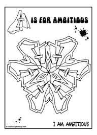 Free Graffiti Mandala Coloring Page