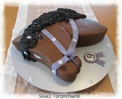 s tortenträume pferdekopf kuchen cake pferd pferde