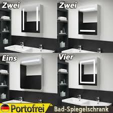 details zu led bad spiegelschrank badschrank badspiegel badezimmerspiegel mit beleuchtung