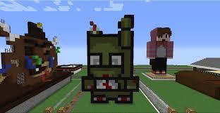 Minecraft Pumpkin Carving Mod 18 by Like My Minecraft Springtrap Pixel Art Fivenightsatfreddys