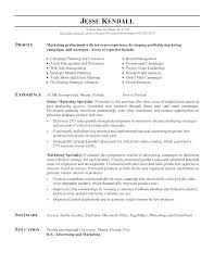 Marketing Resume Examples Sales And Sample Pertaining To Coordinator Job Description Trade Manager