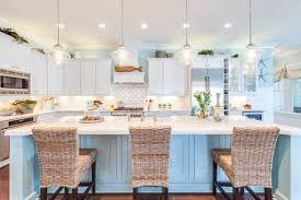 Inspirations On The Horizon Beautiful Beach House Kitchens