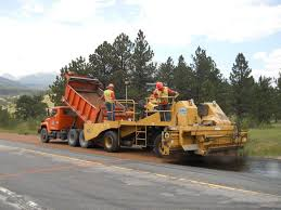 Tandem Axle Dump Truck And Chip Spreader