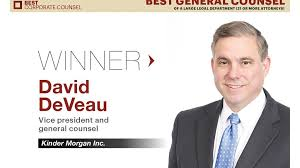 Dresser Rand Group Inc Drc by Kinder Morgan U0027s David Deveau Wins Hbj U0027s Best General Counsel For