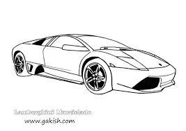 Lamborghini Huracan Coloring Pages Murcielago Egoista Kids Adults Reventon Aventador
