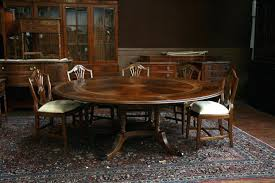 Round Dining Table With Extension Leaves Simple Plans End Hardware