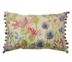 voyage maison voyage maison hedgerow linen cushion