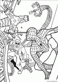 Spectacular Spiderman S Free2503 Coloring Pages