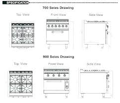 Standard Stove Height Oven Hood Above