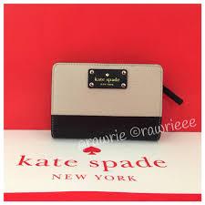 kate spade wellesley tellie medium colorblock pebble black leather