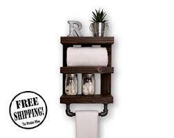 Bathroom Shelf With Towel Bar Wood by Crate Bathroom Shelf With Towel Bar