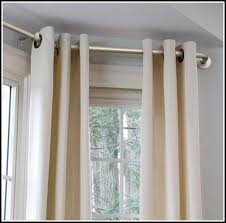 Bendable Curtain Rods Ikea by Continuous Curtain Rod Bay Window Curtains Home Design Ideas