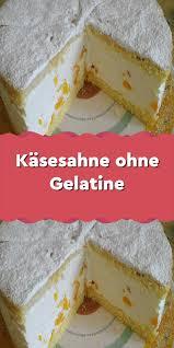 käsesahne ohne gelatine in 2020 gelatin ingredients