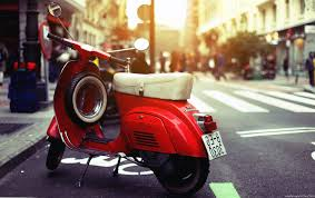 Exclusive Vintage Vespa Scooter Italy Hd Wallp 7605 Wallpaper