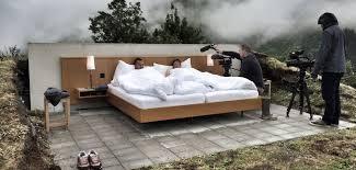 chambre d hotel une chambre d hôtel en plein air on rêve d y dormir la chambre d