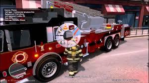 100 Gta 4 Fire Truck Mod GTA IV FDLC Fighter 201 Seagrave Midmount Tower Ladder