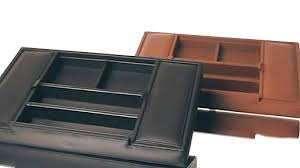 royce leather men s leather valet tray ebags video