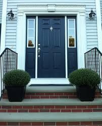 Navy Blue Front Door Ideas