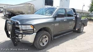 100 2013 Dodge Ram Truck 2500 Crew Cab Flatbed Pickup Truck Item ES9