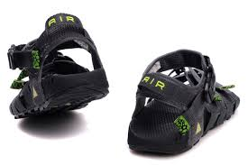 Nike Acg Summer Beach Sandals For Men In Black Green