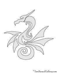 Toothless Dragon Pumpkin Carving Stencil by Dragon Tribal Stencil Free Stencil Gallery