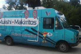 New Food Trucks Muiishi Makirritos And Big Daddy Z's - Eater Houston