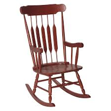 100 Unique Wooden Rocking Chair Gift Mark Adult Cherry